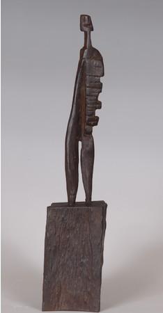 掛井五郎「A man」ブロンズ、1991年