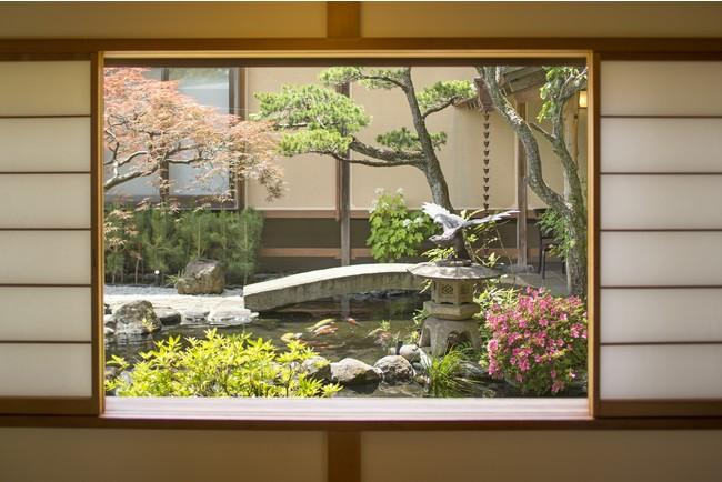 四季の美しさを感じる日本庭園