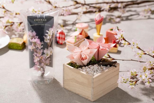 桜のエアリウム、桜の折り紙アート