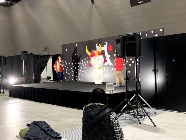 彦根市キャラクター「ひこにゃん」ステージ