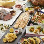 ヨーロッパと北中米(カナダ・アメリカ・ メキシコ)の代表的な料理をオーダーブッフェ形式で