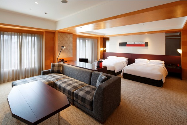 グランド ハイアット 福岡:5連泊以上の宿泊プラン 「ワーク・フロム・ハイアット 5+」 を販売するハイアットの国内ホテル客室イメージ