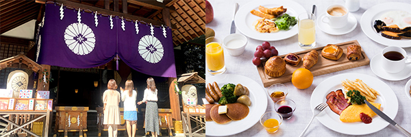 ホテルメトロポリタン エドモント(朝食イメージ・観光イメージ)