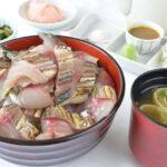海鮮レストラン「海幸苑」の新メニュー「小浜よっぱらいサバ炙り丼」